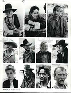 Historic Images - 1993 Press Photo Return to Lonesome Dove Miniseries Cast Members
