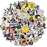 Soul Eater Stickers| 50 Pcak | Vinyl Waterproof Stickers for Laptop,Bumper,Water Bottles,Computer,Phone,Hard hat,Car Stickers and Decals,Adults Kids Teens for Stickers(Soul Eater)