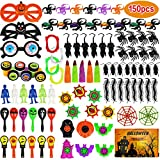 Aitbay 150PCS Halloween Party Favors Bulk for Kids, Favors Toy Assortment for Carnival Prizes, Trick or Treat, Halloween Party and Classroom Rewards