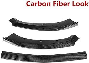 DDDXF 3 Unids Abs Car Front Lip Chin Bumper Body Kits Deflector Spoiler Splitter Difusor Exterior para Ford Mustang 2015 2016 2017, B, B
