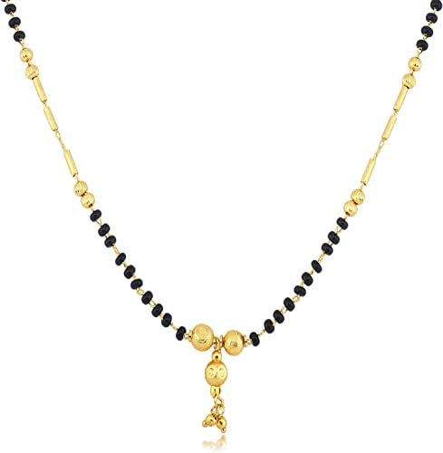 Fancy Gold Plated Wedding Jewellery Mangalsutra for women MP79357