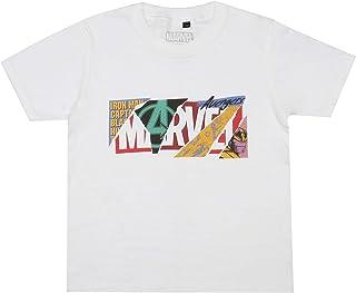 Marvel Boy's Scrapbook Logo T-Shirt