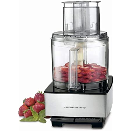 DFP-14BCNY 14-Cup Food Processor, Brushed Stainless Steel - Silver