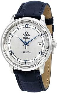 De Ville Automatic Co-Axial Chronometer Blue Leather Strap 424.13.40.20.02.003