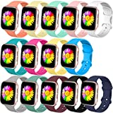 Bravely klimbing Compatible with App le Watch Band 38mm 40mm 42mm 44mm, for Women Men, iwatch Bands Compatible with iWatch Series 6/5/4/3/2/1, 14-Pack, M/L