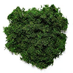 Long-lasting Preserved Moss! You can use this to cover baskets,balls,letters and more. Use it as a filler for baskets,glass vases and more. Wedding tables or woodland party tables can also use this...apply to a backing and make your own place mats or...