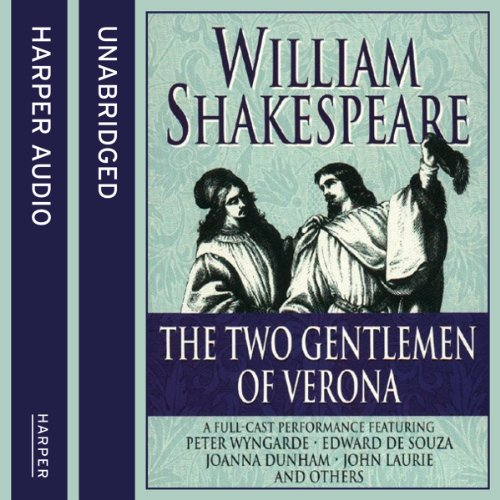 Two Gentlemen of Verona audiobook cover art