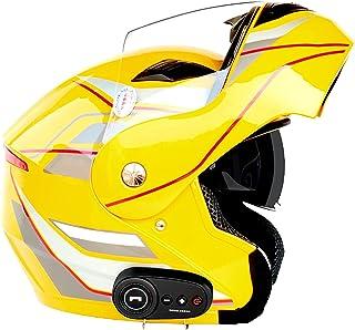 Bluetooth Casco Integral Casco Moto Cascos Multiuso Certificado ECE Cascos Modulares Casco de Motocicleta Casco Integral B...