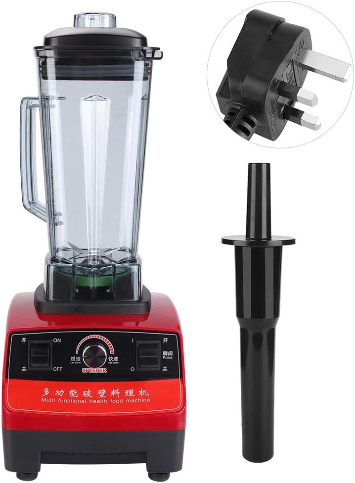 Electric Juicer Extractor Machine Black 1500W 2L Multifunctional Blender Juicer Extractor Sharp Blades /& High Speed Motor Juicer for Juice Milkshake Soybean 220V UK Plug