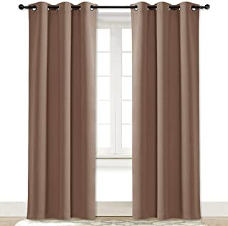 NICETOWN Room Darkening Curtain Blackout Drape Window Treatment Thermal Insulated Solid Grommet Blackout Curtain/Drape for...
