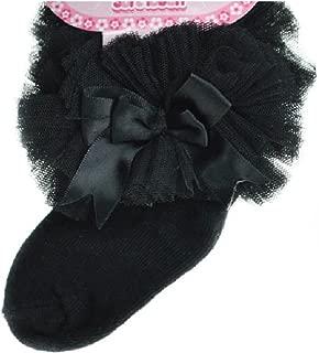 18 Months FRILL Bow Ankle Socks Newborn NEW Spanish// Romany Style Baby TUTU