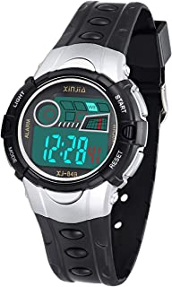 Kids Digital Watch Waterproof Back Light Multifunctional Sports Outdoor Wrist Watches with Alarm for Boys and Girls