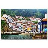 España Asturias Puzzle 1000 Piezas para Adultos Familia Rompecabezas Recuerdo Turismo Regalo