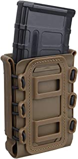 IDOGEAR 5.56mm 7.62mm Tactical Magazine Pouch Airsoft Hunting Shooting Molle Fastmag Soft..