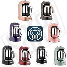 Korkmaz A860-07 Kahvekolik Siyah/Krom Otomatik Kahve Makinesi