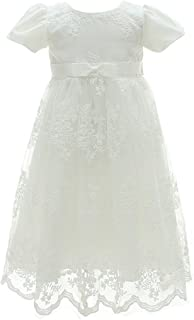 Coozy Baby Girl Dress Flower Christening Baptism Gown Formal Party Special Occasion Dresses for Toddler/Infant