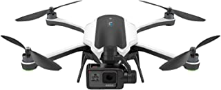 GoPro Karma Quadcopter White with GoPro Hero 5 Black with Karma Accessories - Grip Handle with Stabilizer, Controller, and...