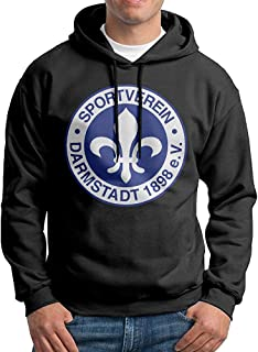 chouchou Mens Sv Darmstadt 98 Logo Custom Retro 100% Cotton Hoodie