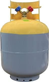 MASTERCOOL (63010 Gray/Yellow Refrigerant Recovery Tank - 50 lb. Capacity