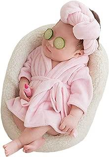 Newborn Baby Boy Girl Photography Photo Props Costume Bathrobes with Towel Photo Shoot