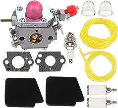 Fuel Li 545081857 C1U-W43 Carburetor for Poulan Pro BVM200FE Craftsman 358794700 358794770 358794780 358794765 358794774 358794773 944518250 944518252 25cc Gas Blower with 545146501 Air Filter