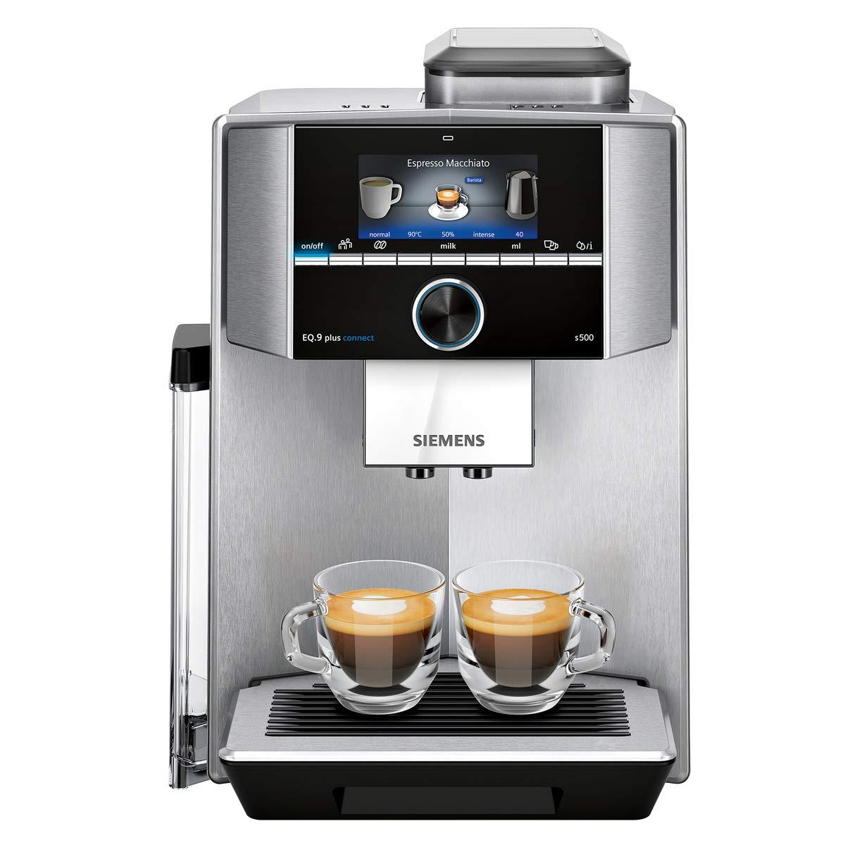Siemens TI9553X1RW Cafetera Superautomática, 1500 W, 1.7 litros, Plástico, Acero: Amazon.es: Hogar