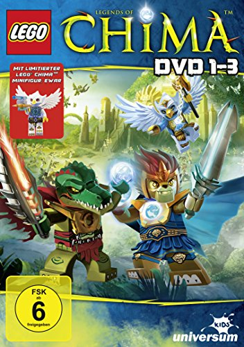 LEGO Legends of Chima 1-3 [Special Edition] [3 DVDs]