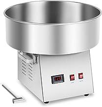 Royal Catering RCZK-1030-W Machine a Barbe a PapaProfessionnelle (Ø 52 cm, 1030 W, 1 unité / 30 s, Acier Inoxydable)