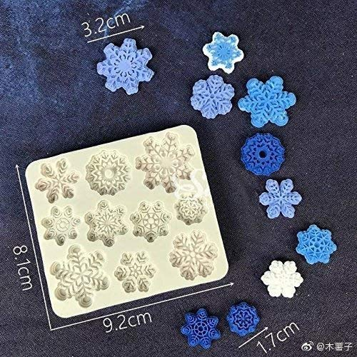 3D Snowflake Silicone Mold