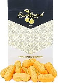 SweetGourmet Orange Circus Peanuts Marshmallow | Spangler Retro Candy | 1 Pound