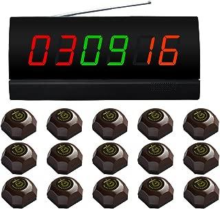 no pod/ía ser utilizado solo APE560 SINGCALL Sistema inal/ámbrico de llamada Atenci/ón por favor llamar a los camareros campana de llamada