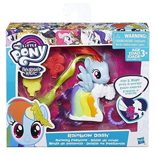 My Little Pony Clip Style Runway Fashions Set rareté poupée jouet jouets enfants filles