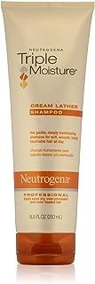 Neutrogena Triple Moisture Cream Lather Shampoo 8.50 oz (Pack of 4)
