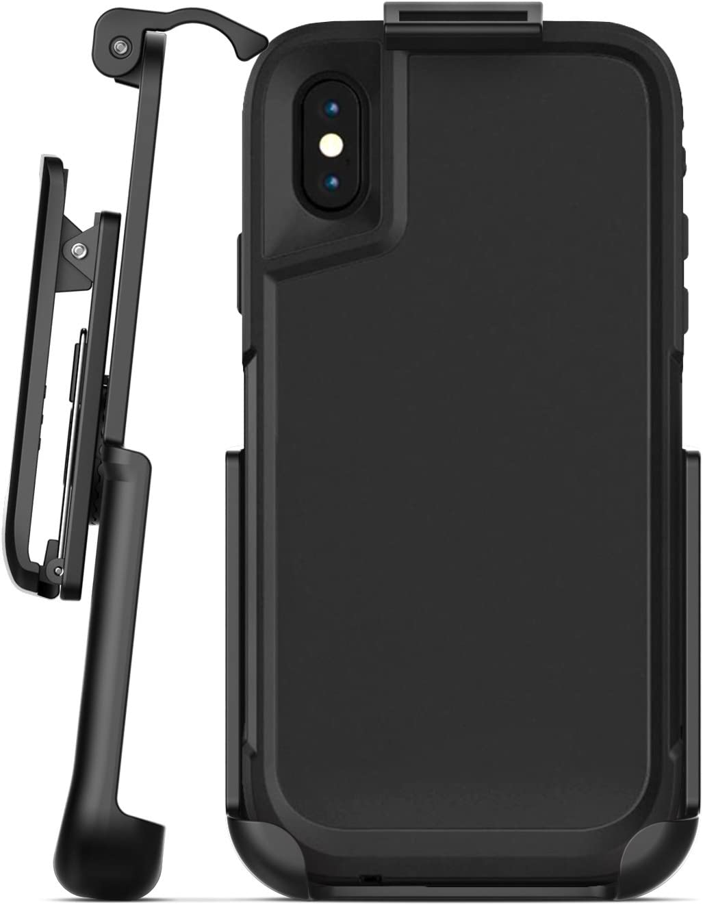 Encased Belt Clip Holster Compatible with Otterbox Pursuit Case - iPhone Xs/iPhone X (case not Included)