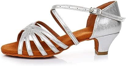 KANGMOON Women's Summer SandalsWomen's Rumba Waltz Prom Ballroom Latin Salsa Dance Shoes Square Dance Shoes 35-41