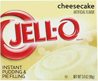 JELL-O Instant Cheesecake Pudding & Pie Filling (3.4 oz Boxes, Pack of 24)
