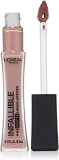 L'Oréal Paris Infallible Pro-Matte Liquid Lipstick, Angora, 0.21 fl. oz.