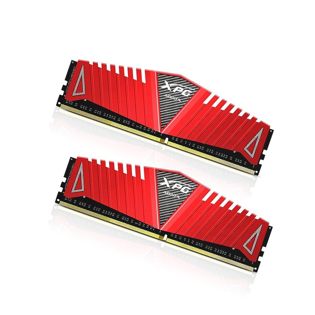 静かにジョージエリオットチチカカ湖AX4U2400W4G16-DRZ [XPG Z1 Series DDR4 2400MHz(PC4-19200) 8GB(4GBx2枚組) Red]