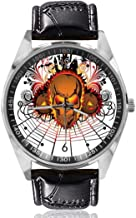 Angry Skull Custom Design Analoge Quartz Horloges ...