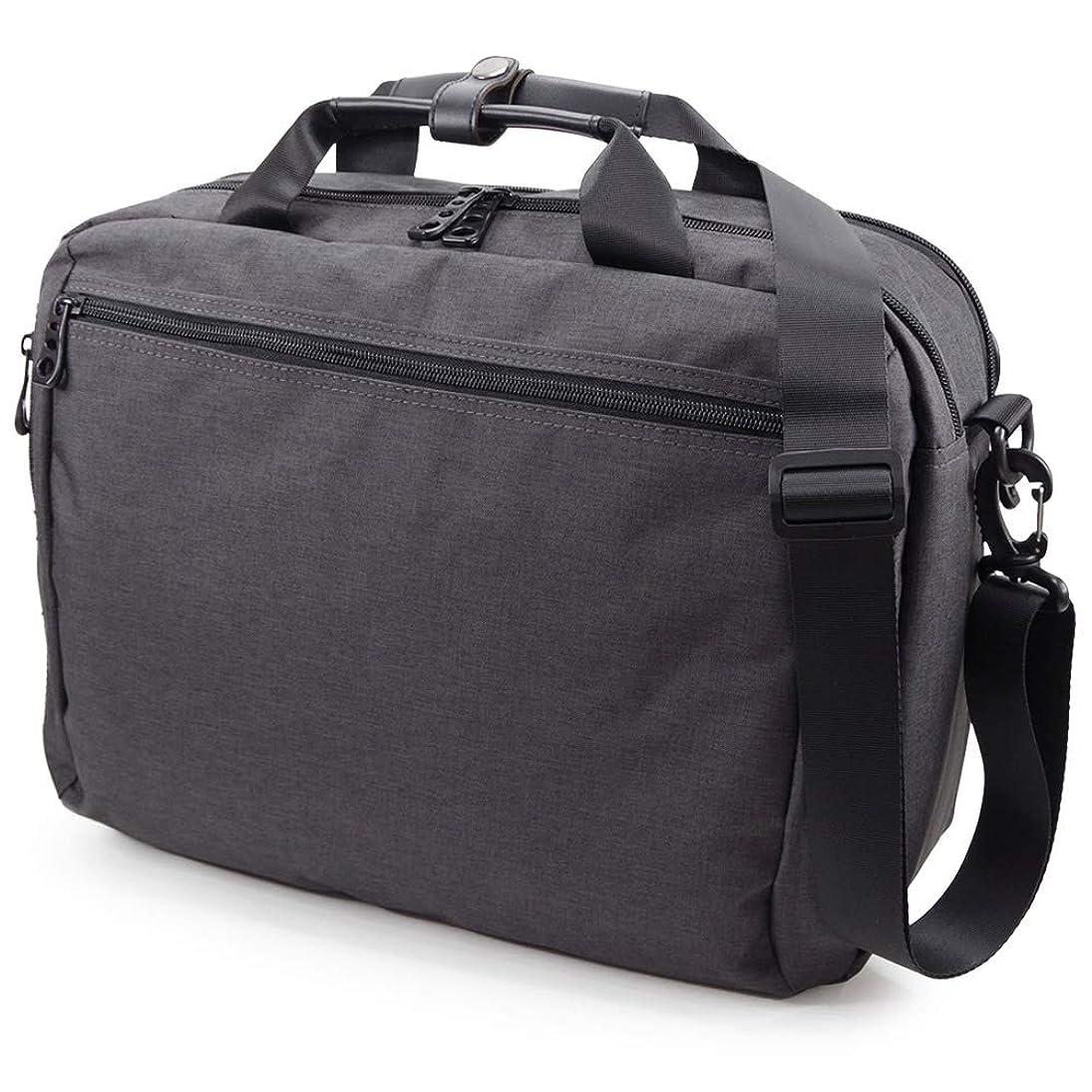 なかなか面積落花生(Marib select) 3WAY ビジネスバッグ ショルダーバッグ リュックサックにもなる 撥水機能 A4 ウレタン入り PCバッグ キャリーオン ブリーフケース メンズ 通勤 営業鞄 バッグ #c365