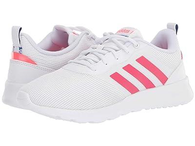adidas Running QT Racer 2.0 (Footwear White/Power Pink/Signal Pink) Women