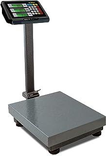 Rhino BAPCA-100 Báscula De Plataforma Plegable. Capacidad 100 Kg, Precisión 10 g. Con Indicador Multifunciones De Acero In...