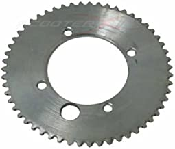 50 Caliber Racing 55 Tooth 45mm BCD 25H Chain Sprocket for Gas Scooter, Pocket Bike, Mini Chopper, Gas Skateboard [4506]