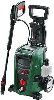 ボッシュ(BOSCH) 高圧洗浄機 1500W 最大許容圧力12MPa パワフル洗浄 コンパクト収納 [8m高圧・3m水道ホース・車輪付き] UA125
