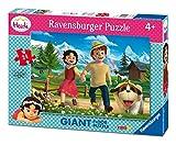 Ravensburger 24 Pezzi Puzzle Giant Floor Per bambini a partire da 3 anni Dimensioni della scatola: 37.3x27.3x5.5 cm Dimensioni finali del puzzle: 70x50 cm Altissima qualità Ravensburger