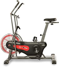 Fitness Reality 1000AR Bluetooth Air Resistance Exercise Fan Bike with 3 HIIT Programs, Watts/Tachometers and Free App