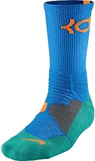 KD Kevin Durant Hyper Elite Crew Socks Photo Blue SX4814-482 (M 6-8)