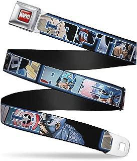 Seatbelt Belt Captain America Regular