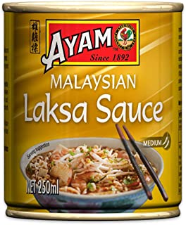 AYAM Malaysian Laksa Sauce | Coconut & Creamy | Gluten Free & Egg Free | No Artificial Flavours, preservatives or Added MS...