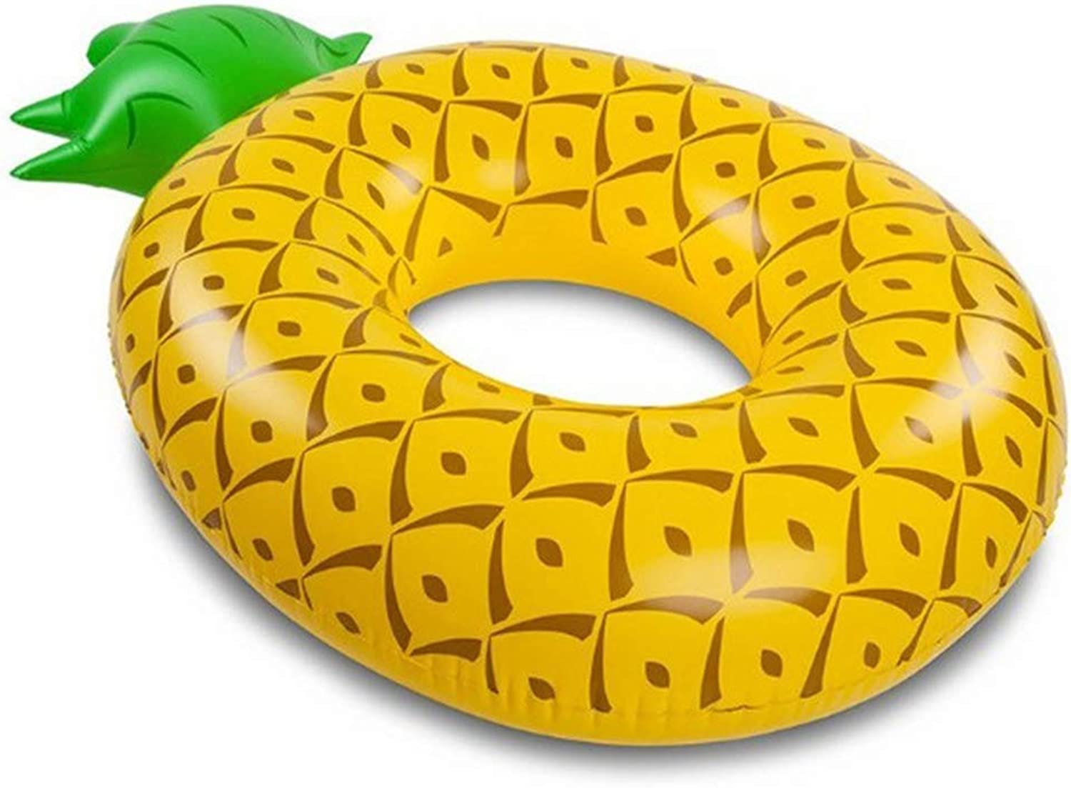 Inflatable Pineapple Pool Float 120  80 cm Summer Beach Swimming Pool Party Lounge Raft Decorations Toys Kids Adults